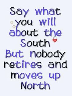 the lovely South