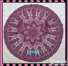 free crochet pattern for circular vest
