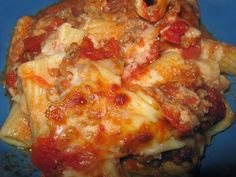 Baked Ziti (Pioneer Woman's recipe)