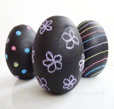 Chalkboard Easter Eggs!