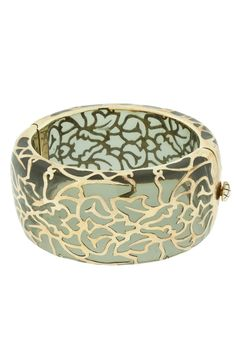 Damask Cuff In Platinum And Gold