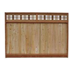 Fence Panels On Pinterest Fence Panels Bamboo Fence And