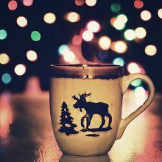 My tradition, get a new Christmas mug every year :)