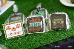 Apollo's 8th Birthday - Minecraft Cookies