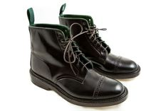 Grahame Fowler x Tricker's - Derby Boot (Cordovan)
