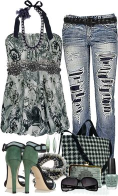 """""""Untitled #39"""" by emjayfashions ❤ liked on Polyvore"""