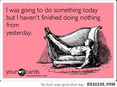 My productivity level...........