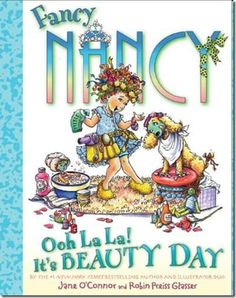 Have a backyard spa day with the girls and read this book. Cute ideas here.