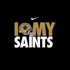 Who Dat!!! #football #saints #nola