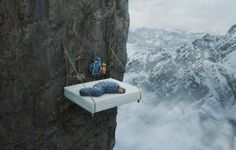 rope hanging bed - Google Search the bucket list, roll, bed, the edge, noway, bug, bucket lists, sweet dreams, sleep tight