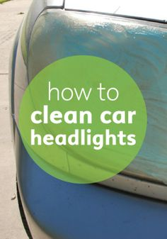 Scrub away the greasy grime on those dingy car lights easily.