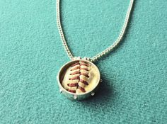 Soo NEAT....This make a awesome keepsake necklace from your son or daughter's FIRST HOMERUN ball or game ball .......