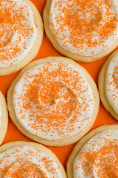 Orange+Creamsicle+Sugar+Cookies