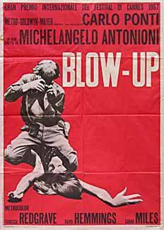 Posteritati: BLOW-UP (Blow Up) R1970's Italian 39x55