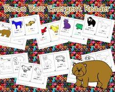 Brown Bear Emergent Reader from Pixie Chicks Shop  on TeachersNotebook.com -  (11 pages)