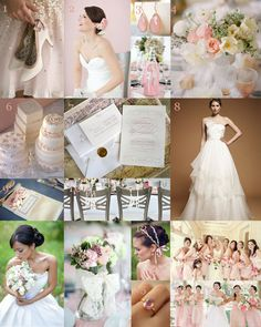 Valentine's Day Inspired Sweet Romantic Wedding Ideas. Grays, pinks, girly, lace, tan, taupe, pale blue accents. (WV WEDDINGS - designed by Caroline McKean - http://www.mywvwedding.com/Planners-Palette/February-2012/Sweet-Romance/)