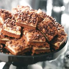 Chocolate Chip Cream Cheese Bars Recipe from Taste of Home