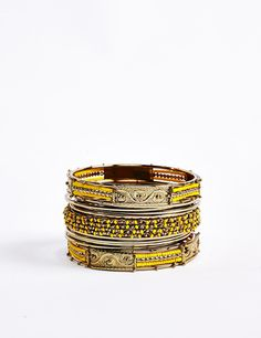 May your outfit pop with this wrist-party!
