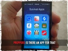 Preppers Is There an App for That - Preparing for shtf