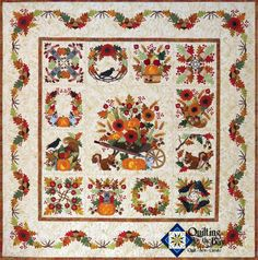 Baltimore Autumn Quilt - Block of the Month
