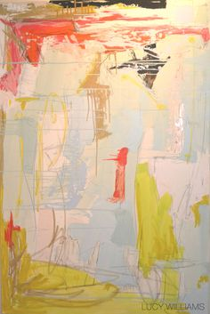"""LUCY WILLIAMS 40"""" X 60""""OIL ON CANVAS"""