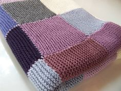 Patchwork Blanket by Debbie Bliss
