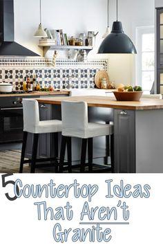 Countertop Ideas that Aren't Granite