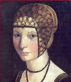 Anne d'Alencon Marquise de Montferrat (1492-1562) daughter of Rene Duc d'Alencon from the House of Valois-Alencon and Marguerite de Vaudemont