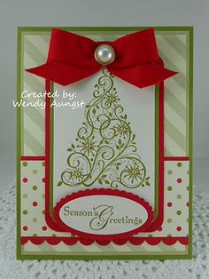 WeeBeeStampin4Fun: Christmas Cards