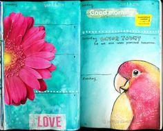 sketchbook journal pages