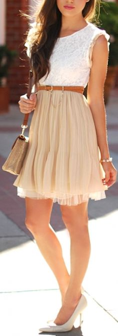 such a cute #beige dress http://rstyle.me/n/j426mr9te