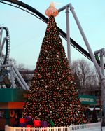 Hershey Park for Christmas. Love it!