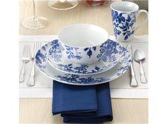 Paula Deen Tatnall Street 16-pc. Dinnerware Set: Bluebell