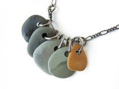 How to drill small beach stones to make natural stone jewellery