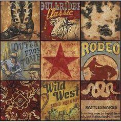 Cowboy Collage.