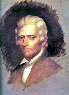 portrait of Daniel Boone
