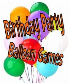 Party Games using Balloons