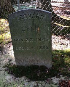 Tombstone Tuesday: Leonard Lynn #genealogy #familyhistory