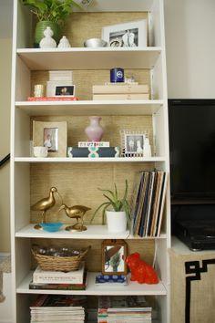cheap bookshelf lining