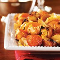 Roasted Sweet Potatoes and Apples #HEBHolidayMeal