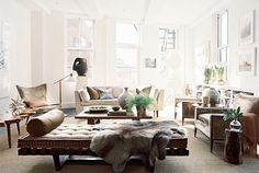 layered living room by stylemadesimple, via Flickr