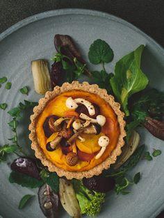 Gluten-Free Pumpkin Root Vegetable Tart Recipe