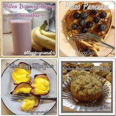 #Paleo Breakfast Recipes