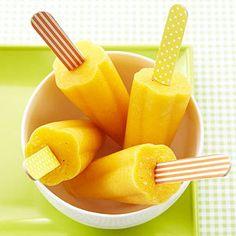 Tropical Fruit Pops #myplate #fruit