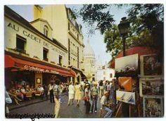 PARIS  MONTMARTRE PAINTERS' square Basilica  by FascinatingHobbies, $4.50