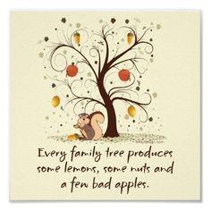 lemons, family trees, famili tree, nuts, tvs
