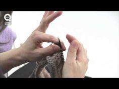 ▶ Lavora a maglia con Emma Fassio - Punto diritto con la tecnica continentale - YouTube
