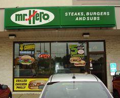 Amherst Mr. Hero ~ 919 Leavitt Road, Amherst, Ohio 44001 ~ 440-988-2288 ~ Hours of Operation: Mon-Wed 10am-10pm, Thurs-Fri-Sat 10am-11pm, Sun 11am-9pm