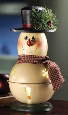 Billy Bell Snowman