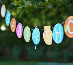 ... for a Pooh- themed baby shower with this festive decorative banner